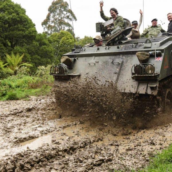 Tank ride M113