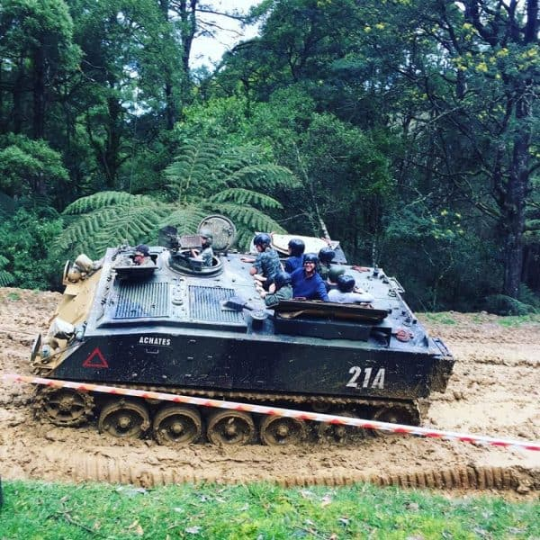 FV 432 APC Tank Ride 1
