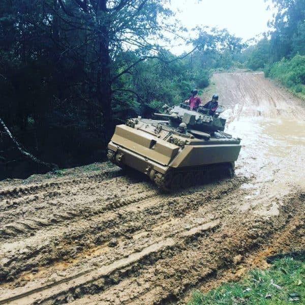 M113 MRV Tank ride 2
