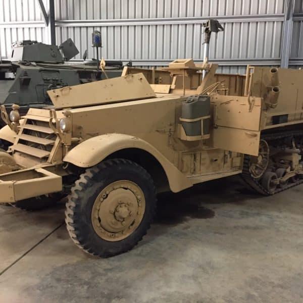 M3 Half Track Tank