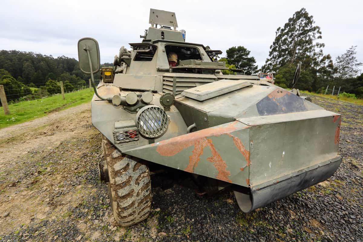 Saracen Tank