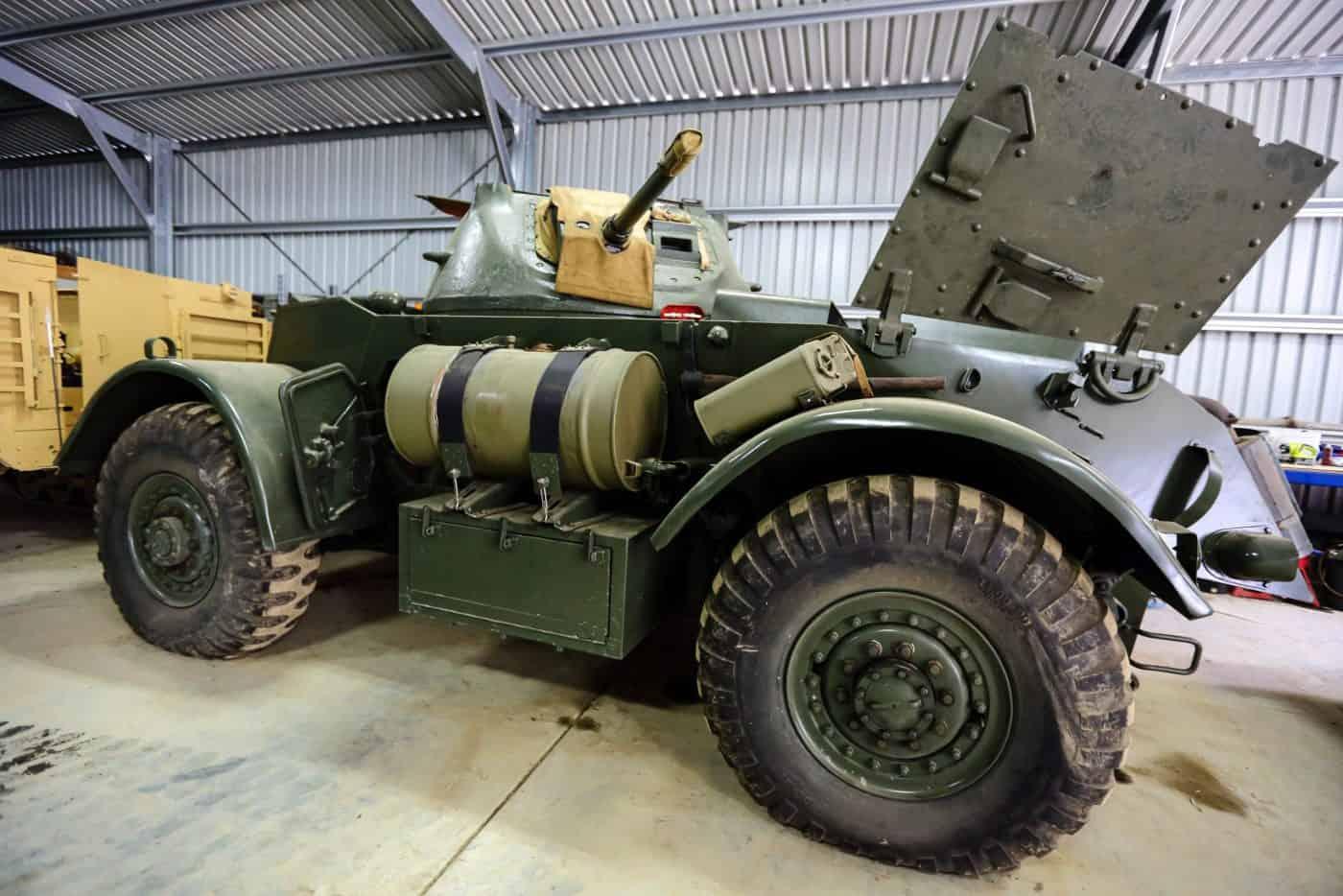 Staghound TE17 Tank